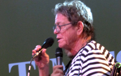 Lou Reed & Mick Rock Q & A Session – Scala, Londra 5 settembre 2013