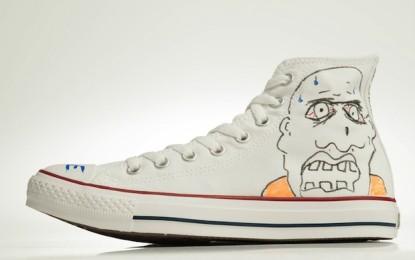 Le scarpe disegnate da Tame Impala, Bon Iver, The National e altri all'asta per beneficenza