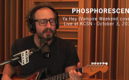 Ascolta: Phosphorescent, Ya Hey (Vampire Weekend Cover)