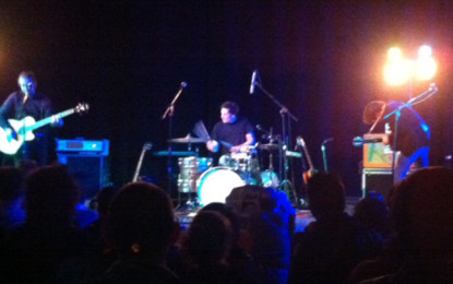 Live report: Appino + Nu Bohemien + Far Glow @ Auditorium Malkovich, Verona, 22/11/2013