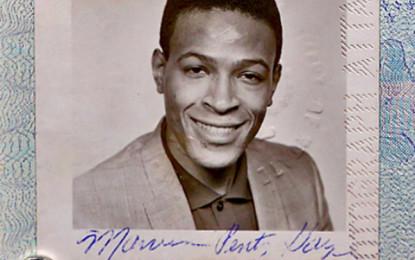 Il passaporto di Marvin Gaye trovato in un vinile da 50 centesimi