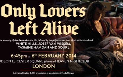 Live report: Only Lovers Left Alive – Jim Jarmusch event @ Odeon Cinema, Londra, 06/02/2014