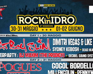 Svelati nuovi nomi per il Rock in Idro 2014 – UPDATE: la line-up completa