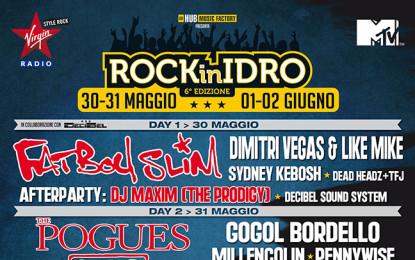 Svelati nuovi nomi per il Rock in Idro 2014 – UPDATE: la line-up completa