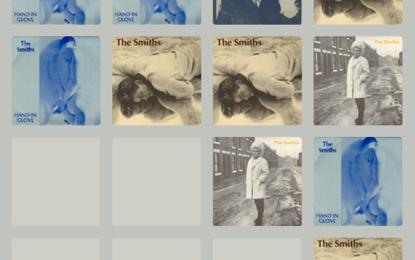 Il gioco 2048 in versione The Smiths