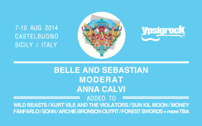 Belle and Sebastian, Moderat e Anna Calvi confermati all'Ypsigrock 2014