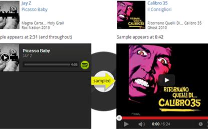 I Calibro 35 campionati da Jay Z per Picasso Baby