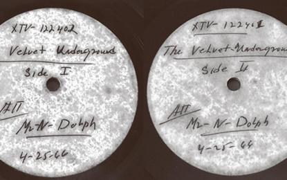 Il disco-rarità dei Velvet Underground venduto a 25.000 dollari torna all'asta