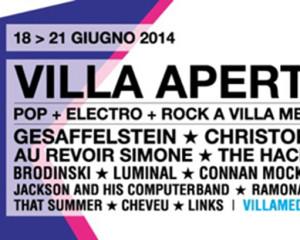 Contest: vinci i biglietti per il festival Villa Aperta