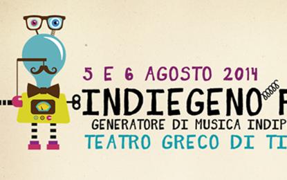 Il 5 e 6 agosto si tiene la prima edizione dell'Indiegeno Fest