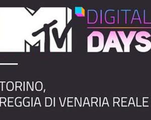 MTV Digital Days: la seconda edizione il 12 e 13 settembre alla Reggia di Venaria Reale (TO)