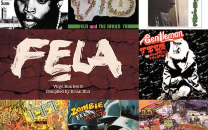 In arrivo un nuovo box set di vinili di Fela Kuti, curato da Brian Eno