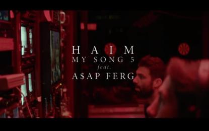 Il nuovo video delle Haim per il remix di My Song 5, con Grimes, Ezra Koenig e tanti altri
