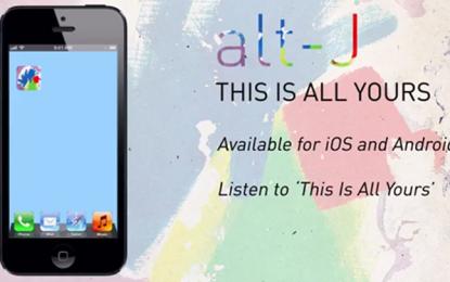 Gli Alt-J pubblicano un app per ascoltare il loro nuovo album, ma solo in determinate coordinate geografiche