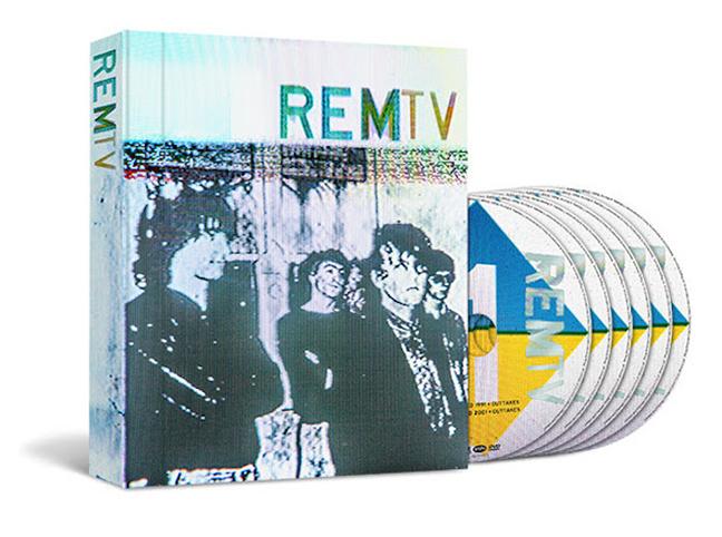 """REMTV: in arrivo il cofanetto """"televisivo"""" della band di Michael Stipe"""
