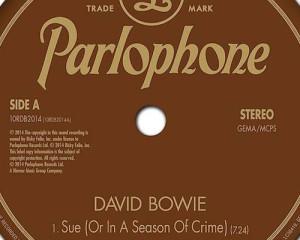 Ascolta: David Bowie, Sue (Or in a Season of Crime)