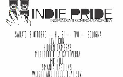 La terza edizione dell'Indie Pride, questo sabato a Bologna