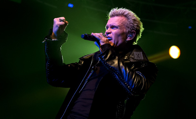 Live Report: Billy Idol @ Fabrique, Milano – 23/11/2014
