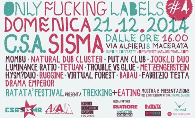 Quarta edizione per Only Fucking Labels, il festival delle etichette indipedenti a Macerata