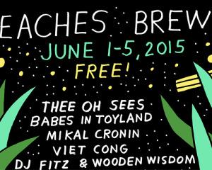 La line up del festival Beaches Brew 2015