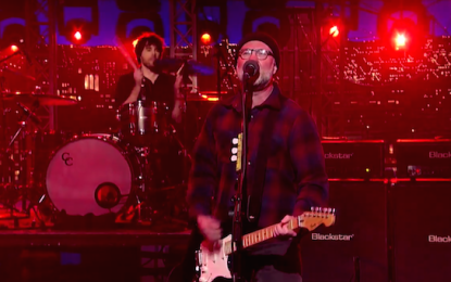 Bob Mould ha distrutto il Late Show with David Letterman