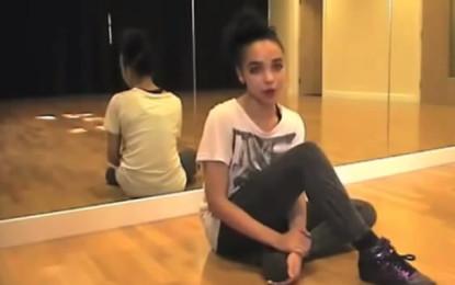 A lezione di danza da FKA Twigs