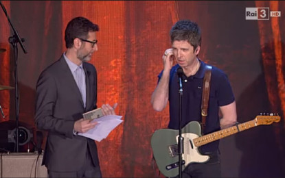 Noel Gallagher si lamenta della sua intervista a Che tempo che fa