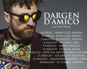 Dargen D'Amico, ecco le date del D'io Live Tour