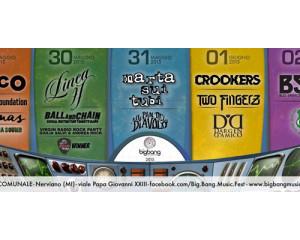 Contest: vinci un pass backstage + maglietta per il Big Bang Festival di Nerviano (MI)
