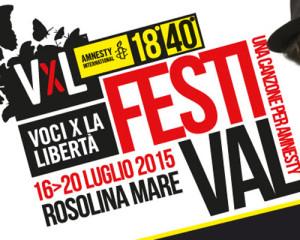 Il cartellone completo di Voci per la Libertà 2015