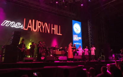Live Report: Ms Lauryn Hill @ Lucca Summer 2015