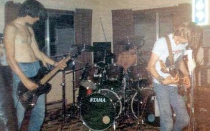 Foto dal primo concerto dei Nirvana, annata 1987