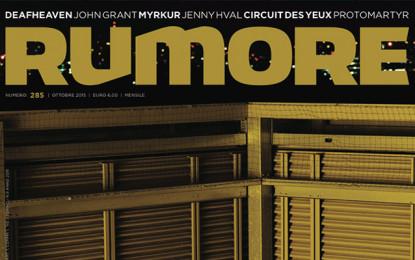 Rumore 285 | Ottobre 2015