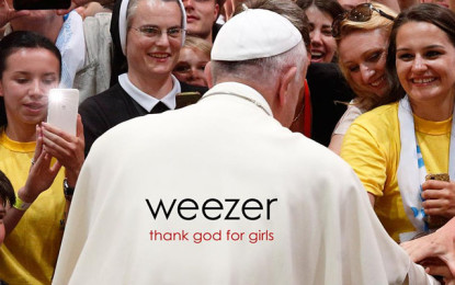 I Weezer presentano il nuovo singolo Thank God for Girls