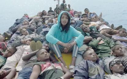 I protagonisti del video di Borders di M.I.A. sono i rifugiati
