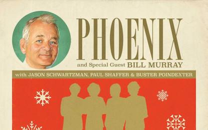 Bill Murray e i Phoenix pubblicheranno un singolo natalizio con degli ospiti speciali
