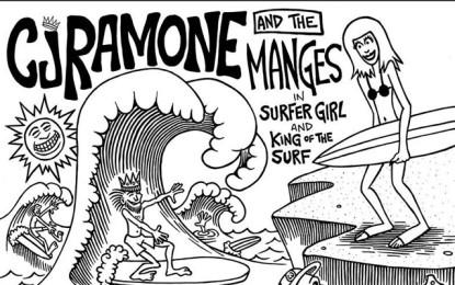 Ascolta in anteprima il singolo di CJ Ramone coi Manges