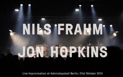 Jon Hopkins e Nils Frahm che improvvisano assieme dal vivo sono una cosa molto bella