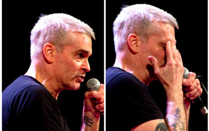 Henry Rollins – Charmingly Obstinate @ Barbican Hall, London, 15/01/2016