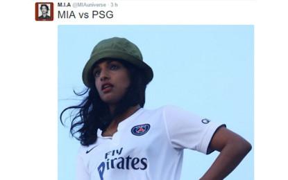 M.I.A. vs PSG, il club francese non ha gradito i riferimenti nel video di Borders