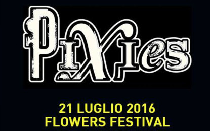 I Pixies in Italia per un'unica data al Flowers Festival