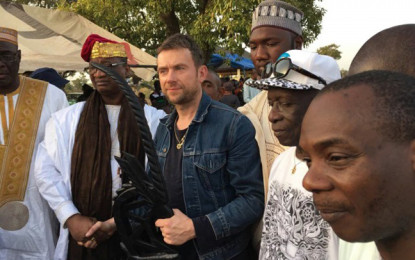 "Damon Albarn è stato nominato ""Re locale"" in Mali"