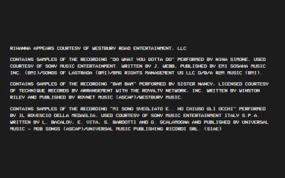 Kanye West ha usato un sample de Il Rovescio della Medaglia su Famous