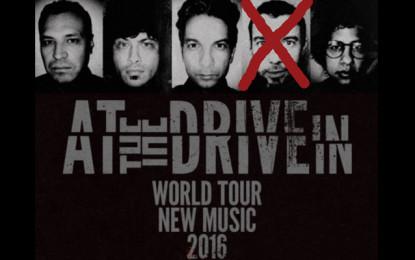 Il chitarrista e fondatore degli At the Drive-In lascia la band