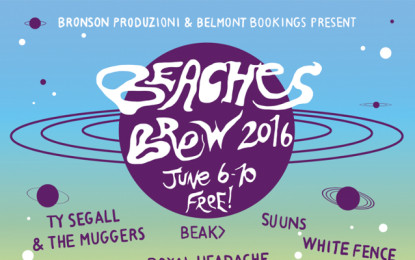 La line-up e il programma completo del Beaches Brew 2016