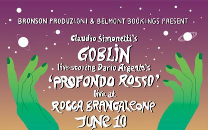 Claudio Simonetti's Goblin al Beaches Brew con Profondo rosso
