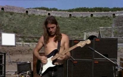 David Gilmour torna a Pompei dopo 45 anni