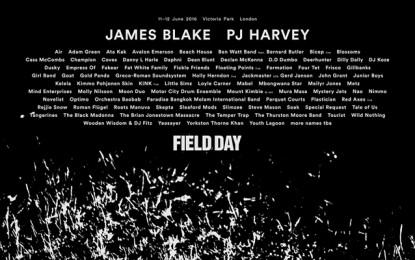 La line-up definitiva del Field Day 2016