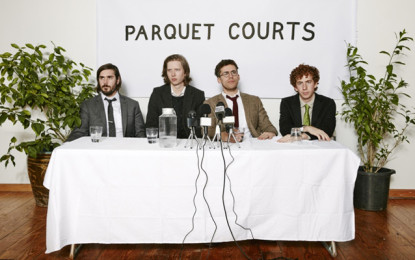 Ascolta: Parquet Courts, Outside