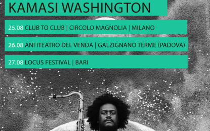Kamasi Washington torna in Italia per quattro date